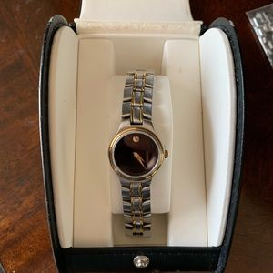 Movado wrist watch for women